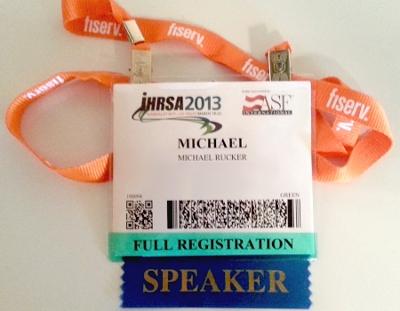 2013 IHRSA Badge