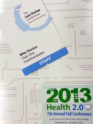 Health 2.0 and The Lean Startup Conference 2013
